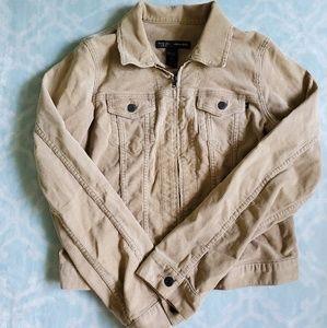 A&F Corduroy Zip Jacket